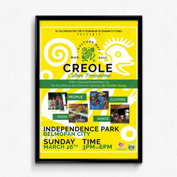 Culture Day 2017 Flyer portfolio item featured