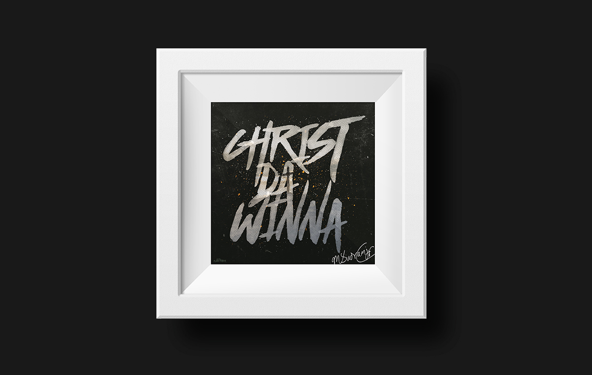 Christ Da Winna Framed Art Poster portfolio item