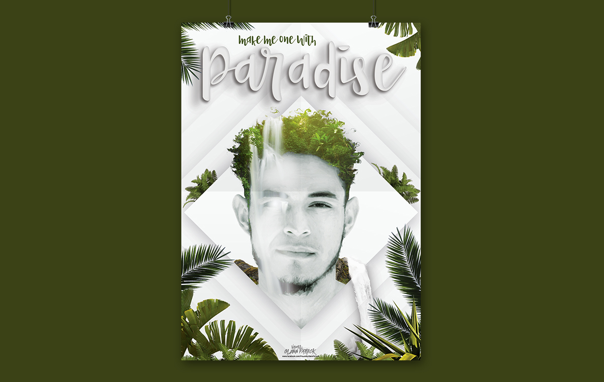 One with Paradise Poster design portfolio item