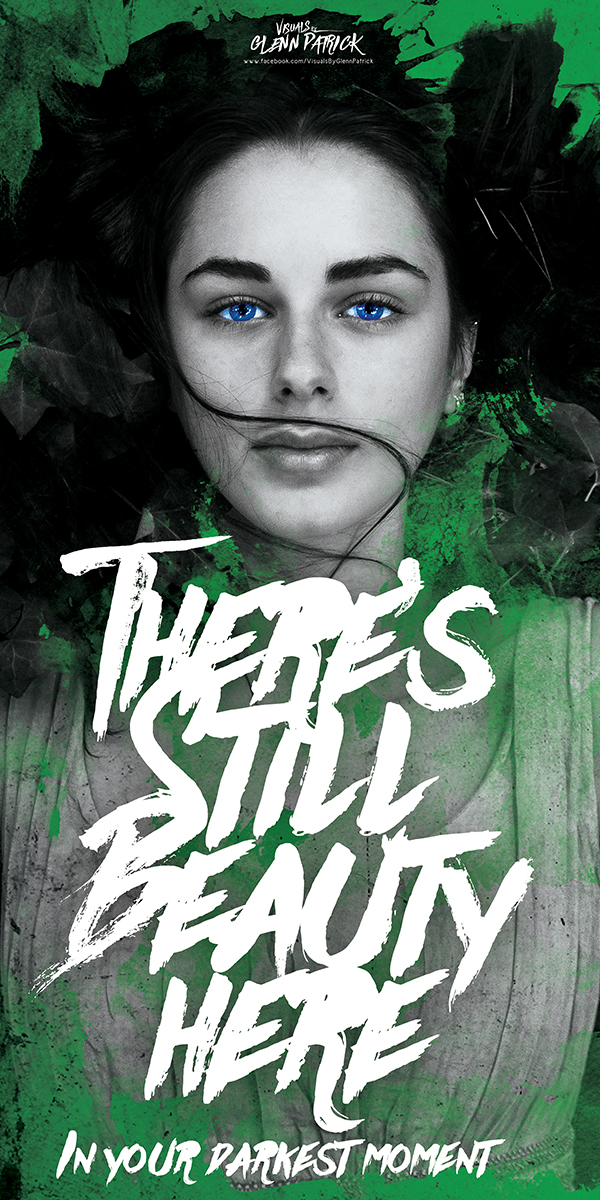there is still beauty poster portfolio item featured