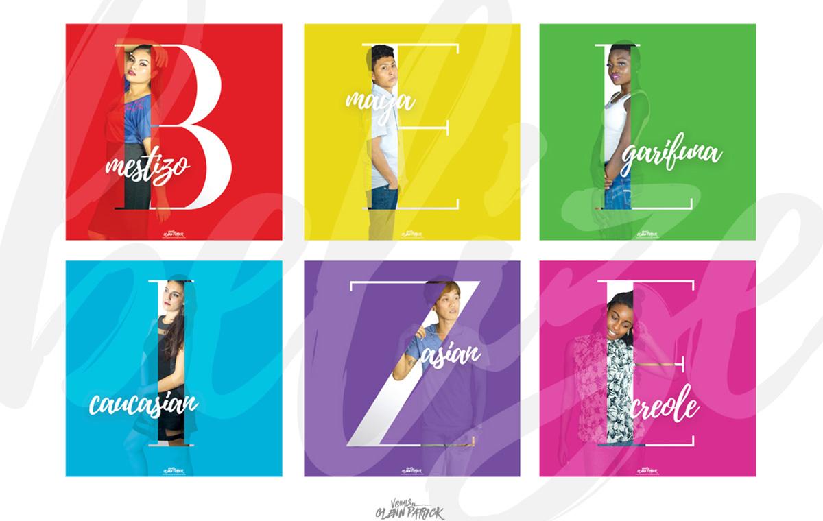 we da fi belize together as one Poster design portfolio item two