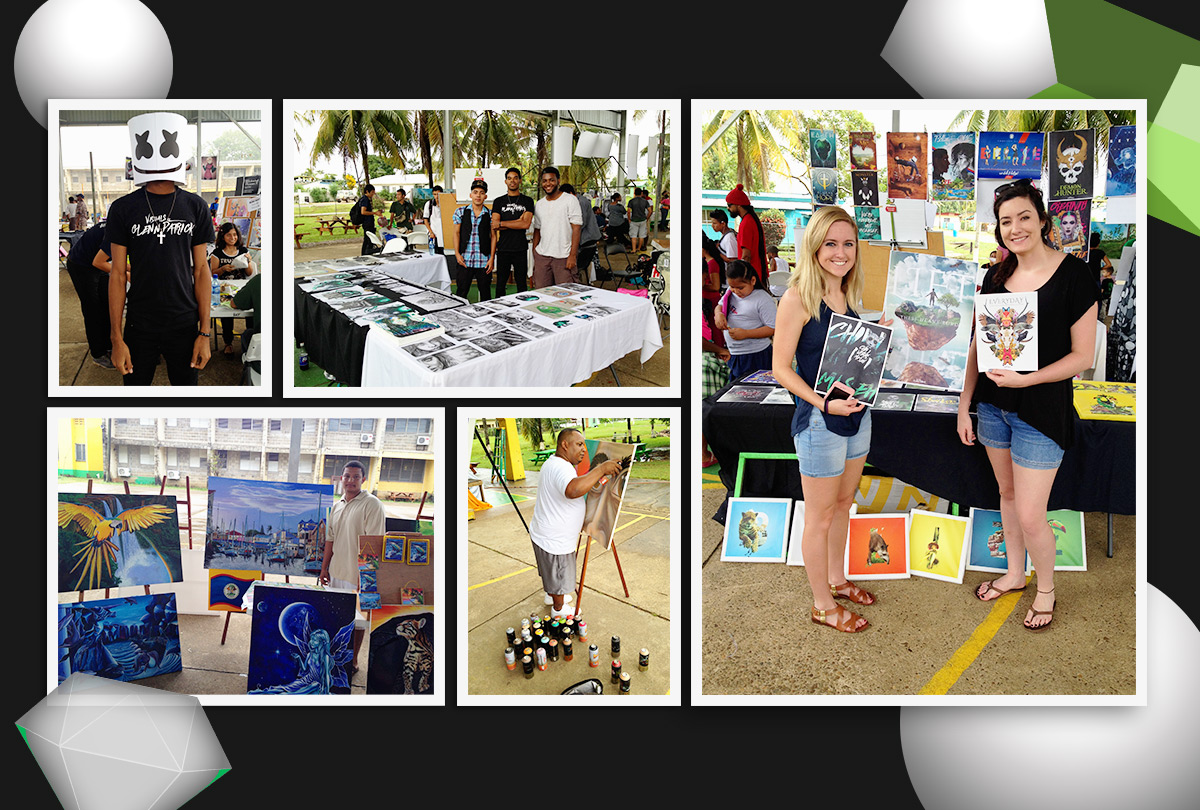 BAY Belmopan active youths art fest 2016 blog image
